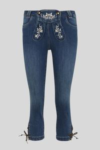 C&A Trachten-Jeans, Blau, Größe: 42
