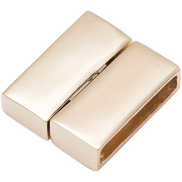 Rico Design Magnetverschluss gold 23,4x20mm