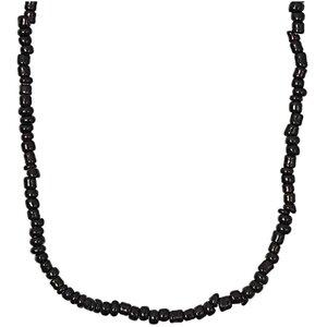 Rico Design Kette Rocailles schwarz 70cm