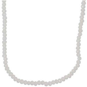 Rico Design Glasschliffkette weiß 90cm