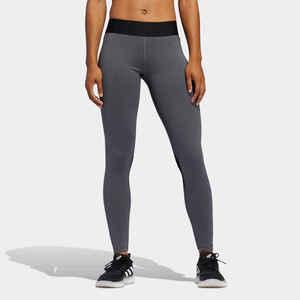 ADIDAS Leggings Fitness Cardio Damen grau