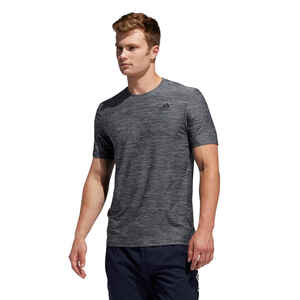 T-Shirt Fitness Cardio Herren grau