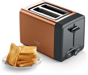 BOSCH Toaster TAT4P429 DesignLine, 2 kurze Schlitze, 970 W