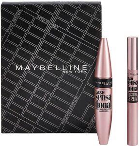 MAYBELLINE NEW YORK Make-up Set »Lash Sensational Mascara und Lash Sensational Wimpernserum«, 2-tlg.