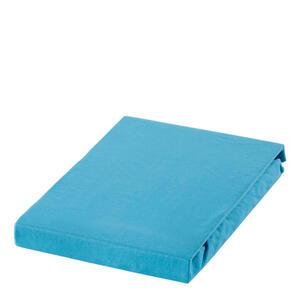 Novel Spannbetttuch jersey petrol bügelfrei , Barcelona , Textil , 140x200 cm , Jersey , bügelfrei , 003444022118