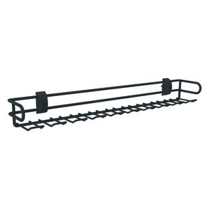 Hom`in Krawattenhalter anthrazit , Unit  -Hom In- , Metall , 7.8x6x46.2 cm , lackiert , 002647004151