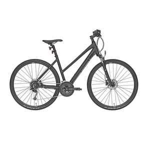 Cross Bike 28 Zoll Riverside 700 CTR Damen anthrazit/lime green