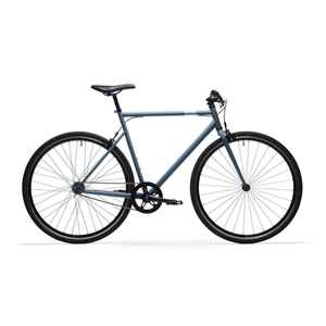 City Bike 28 Zoll Elops Speed 500 Singlespeed/Fixie blau