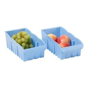 Fackelmann Organisierbox in verschiedenen Farben, ca. 27x14x10cm, 2er Set