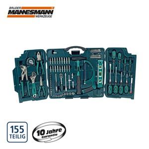 Werkzeugkoffer 89-teilig, inkl. Bits, Schraubendreher, Steckschlüsseleinsätze u. v. m.