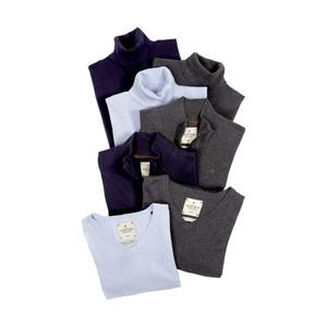 Damen- oder Herren-Pullover oder -Troyer Größe: 38 - 48 bzw. S - XXL, je