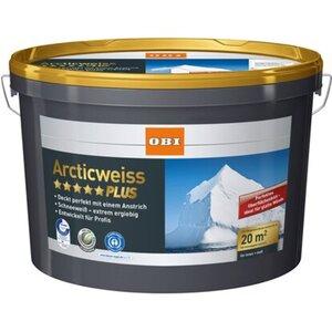 OBI Arcticweiss Plus matt 2,5 l