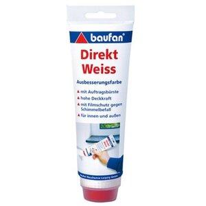 Baufan Direkt-Weiss Ausbesserungsfarbe 250 g