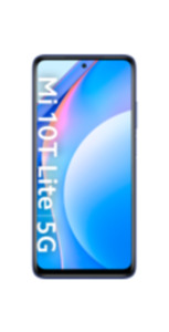 Xiaomi Mi 10T Lite 5G 128GB blau mit Free L Boost