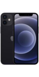iPhone 12 mini 64GB schwarz mit Magenta Mobil L