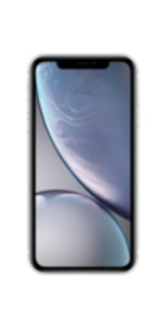 Apple iPhone XR 128GB weiss mit Magenta Mobil S