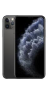 Apple iPhone 11 Pro Max 64GB Space Grau mit Magenta Mobil M
