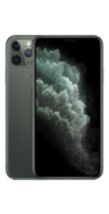 Apple iPhone 11 Pro Max 64GB Nachtgrün mit Magenta Mobil L