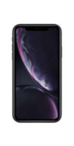 Apple iPhone XR 64GB schwarz mit green LTE 18 GB Aktion