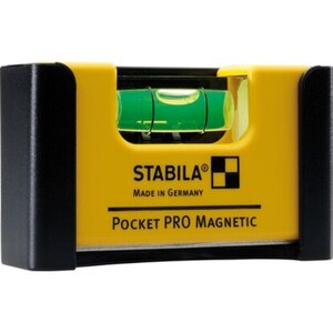 Wasserwaage Pocket Pro Magnetic mit Gürtel-Clip  7 cm