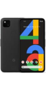 Google Pixel 4a 128GB schwarz mit green LTE 26 GB Aktion
