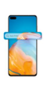 HUAWEI P40 128GB silver mit green LTE 26 GB Aktion