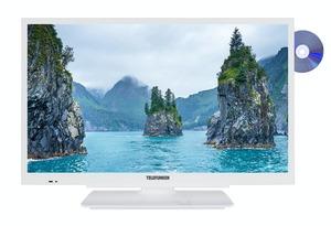 Telefunken XH24G101D-W 24 Zoll Fernseher HD-ready mit DVD-Player