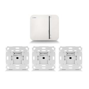 Bosch Smart Home Starter Set inkl. Controller + 3x Unterputzschalter Rolladen