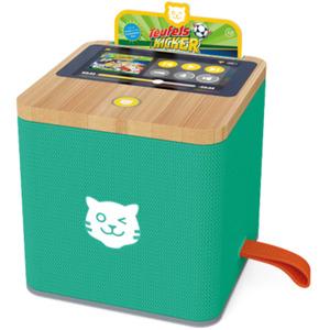 Tigerbox Touch Hörbox für Kinder mit Nachtlicht inkl. 1-Monatsticket grün