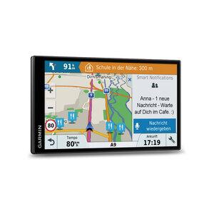 Garmin DriveSmart™ 61 LMT-D EU Navigationsgerät mit Sicherheitspaket und lebenslang kostenlosen Kartenupdates(1) via WLAN