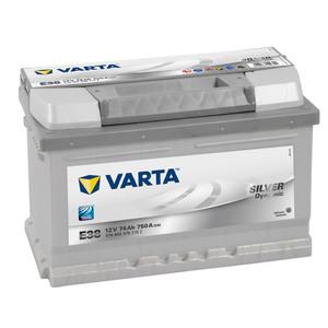 VARTA Silver Dynamic Autobatterie E38, 74 Ah, 750 A