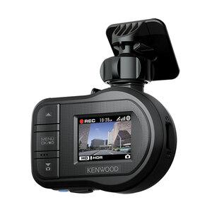 Kenwood Dashcam DRV-430, kompakte Full-HD Autokamera mit GPS, Fahrassistenzsystem, 128° Aufnahmewinkel, 1,5-Zoll-LCD