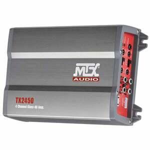 4-Kanal Class AB-Verstärker TX2450, von MTX
