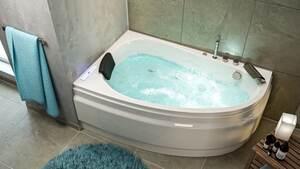 Stardust links Premium Whirlpool (L/B/H) 150/95/58,5 cm
