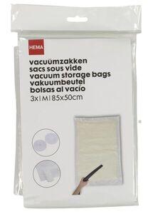 HEMA 3er-Pack Vakuumbeutel, Medium, 85 X 50 Cm