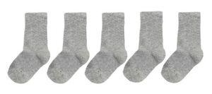 HEMA 5er-Pack Kinder-Socken Graumeliert