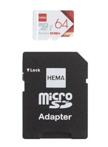 HEMA Mikro-SD-Speicherkarte, 64 GB