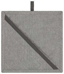 HEMA Topflappen - 21 X 21 - Baumwolle - Grau