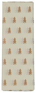 HEMA 8 Bögen Seidenpapier, 70x50, Tannenbäume