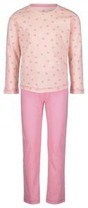 HEMA Kinder-Pyjama, Herzen Rosa