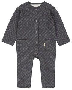 HEMA Newborn-Jumpsuit Grau