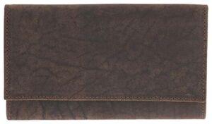 HEMA Leder-Portemonnaie, 10 X 16.4 Cm, RFID-Schutz, Braun