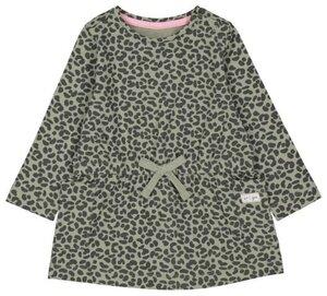 HEMA Baby-Kleid, Tierfleckenmuster Grün
