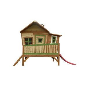 XXXLutz Spielhaus emma , A030.108.00  *mb* , Braun , Holz , Zeder , massiv , 345x229x180 cm , Echtholz , 004005001001