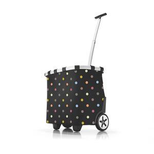 Reisenthel Carrycruiser dots , Oe7009 , Metall, Textil , 42x47_5x32 cm , Innentasche, wasserabweisend, höhenverstellbarer Griff, Leichtlaufrollen , 0035550206