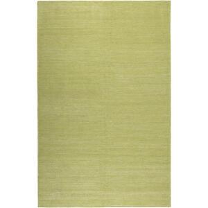 Esprit Handwebteppich 130/190 cm limette , Rainbow Kelim Esp-7708 , Textil , Uni , 130x190 cm , für Fußbodenheizung geeignet, in verschiedenen Größen erhältlich, für Hausstauballergiker geeigne