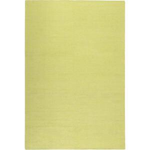 Esprit Handwebteppich 130/190 cm gelb , Rainbow Kelim Esp-7708 , Textil , Uni , 130x190 cm , für Fußbodenheizung geeignet, in verschiedenen Größen erhältlich, für Hausstauballergiker geeignet,