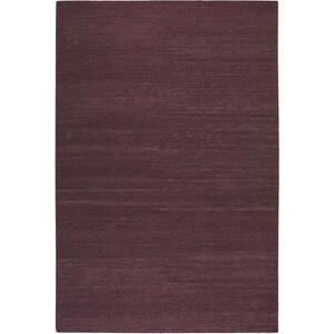 Esprit Handwebteppich 130/190 cm bordeaux , Rainbow Kelim Esp-7708 , Textil , Uni , 130x190 cm , für Fußbodenheizung geeignet, in verschiedenen Größen erhältlich, für Hausstauballergiker geeign