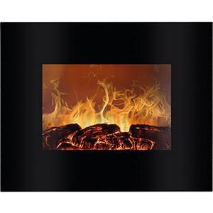 Bomann Elektrokamin 66 x 52 cm kunststoff, glas , EK 6020 CB Schwarz *mb* , Schwarz , 66x52x9.5 cm , Fernbedienung, Überhitzungsschutz, Thermostat , 006734018601