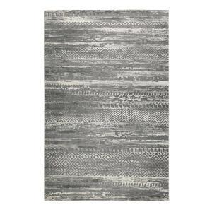 Esprit Webteppich 160/225 cm grau, sandfarben, beige , Makai , Textil , Vintage , 160x225 cm , für Fußbodenheizung geeignet, in verschiedenen Größen erhältlich, für Hausstauballergiker geeignet